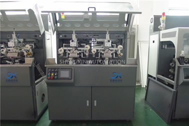 ประเทศจีน Multicolor Continuous Hot Foil Plastic Stamping Machine Side Wall ผู้ผลิต