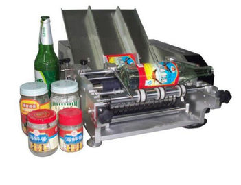 ประเทศจีน Plastic Bottle Labeling Machine , Semi Auto Pneumatic Sticker Applicator Machine ผู้ผลิต