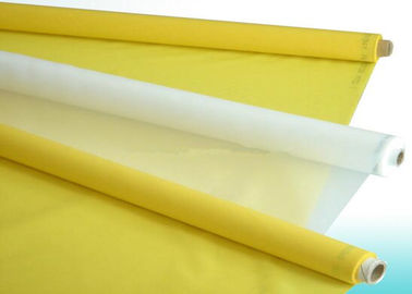 ประเทศจีน Polyester Silk Screen Printing Mesh / Polyester Mesh Fabric Plain Weave Type ผู้ผลิต
