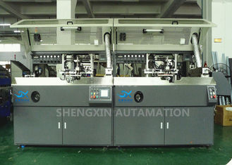 ประเทศจีน Oval Surface Medical Bottle Screen Print Machine Two Colors Printing Press ผู้ผลิต