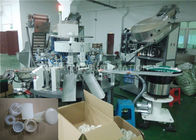 China Caps / Closures Fully Automatic Assembly Line For Plastic Industry distributor