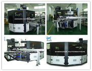 Best Flat Bed Silk Automatic Screen Printing Machine Turntable Type for sale