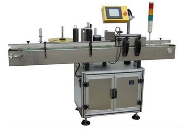 ประเทศจีน Sticker Electric Automatic Labeling Machine 580W For Small Round Oval Bottles โรงงาน