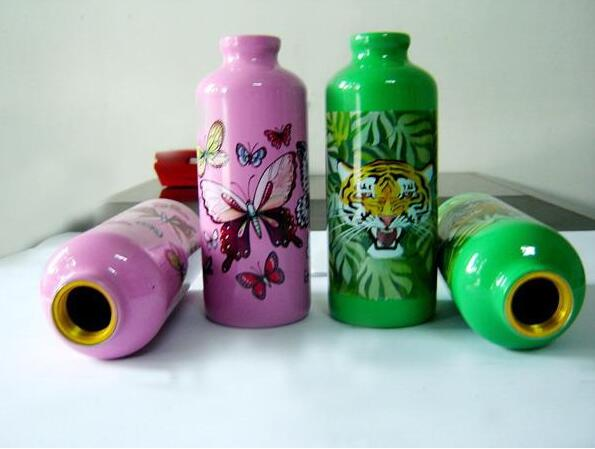 Full Auto Heat Transfer Printing Equipment For Make Up Products Bottles
